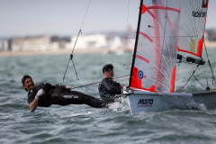 Nick Robbins and Billy Vennis-Ozanne,29er,GBR 2337