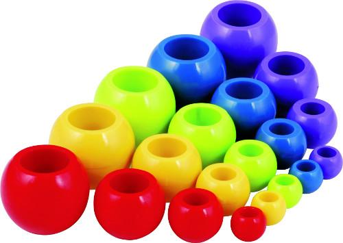 A2033 50g 30mm Tubular plastic beads