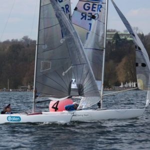 Megan Pascoe – First regatta of the year
