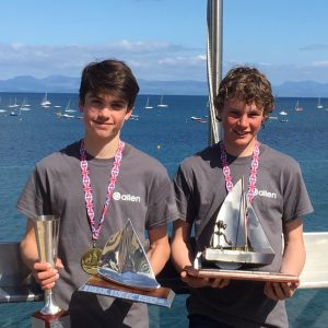 Joey Taylor/ Terry Hacker – RS Feva National Champions 2019