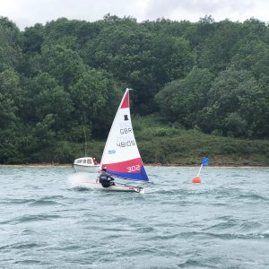 Ben Purrier finished 3rd at the Topper NS5 racing at Carsington.