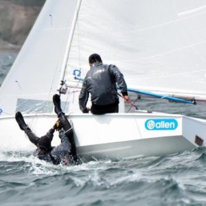 Runners & Riders for the Allen GP14 National Championships 2019 at SCYC