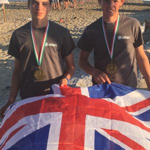 Youth Team Allen Sailors Finish 5th at RS Feva Worlds