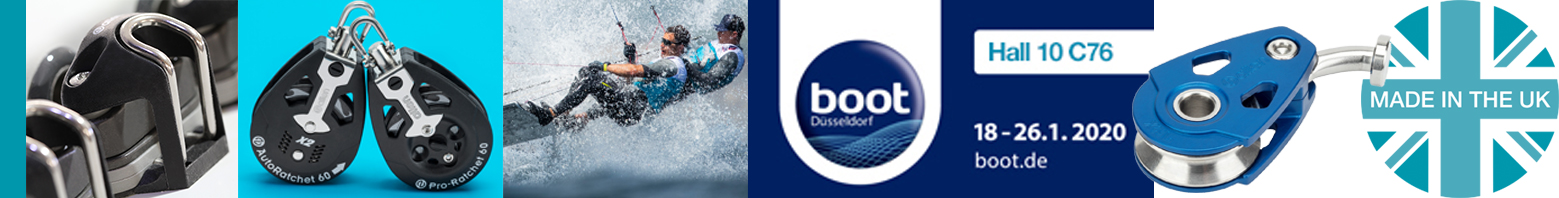 Come and see us at Hall 10 C76 at Boot, Dusseldorf. 18-26 January 2020