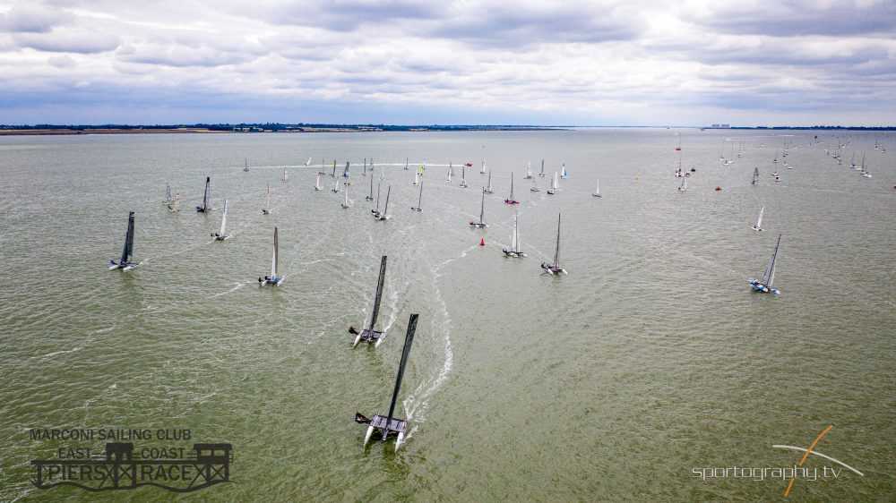 Allen Endurance Series - East Coast Piers Race Start