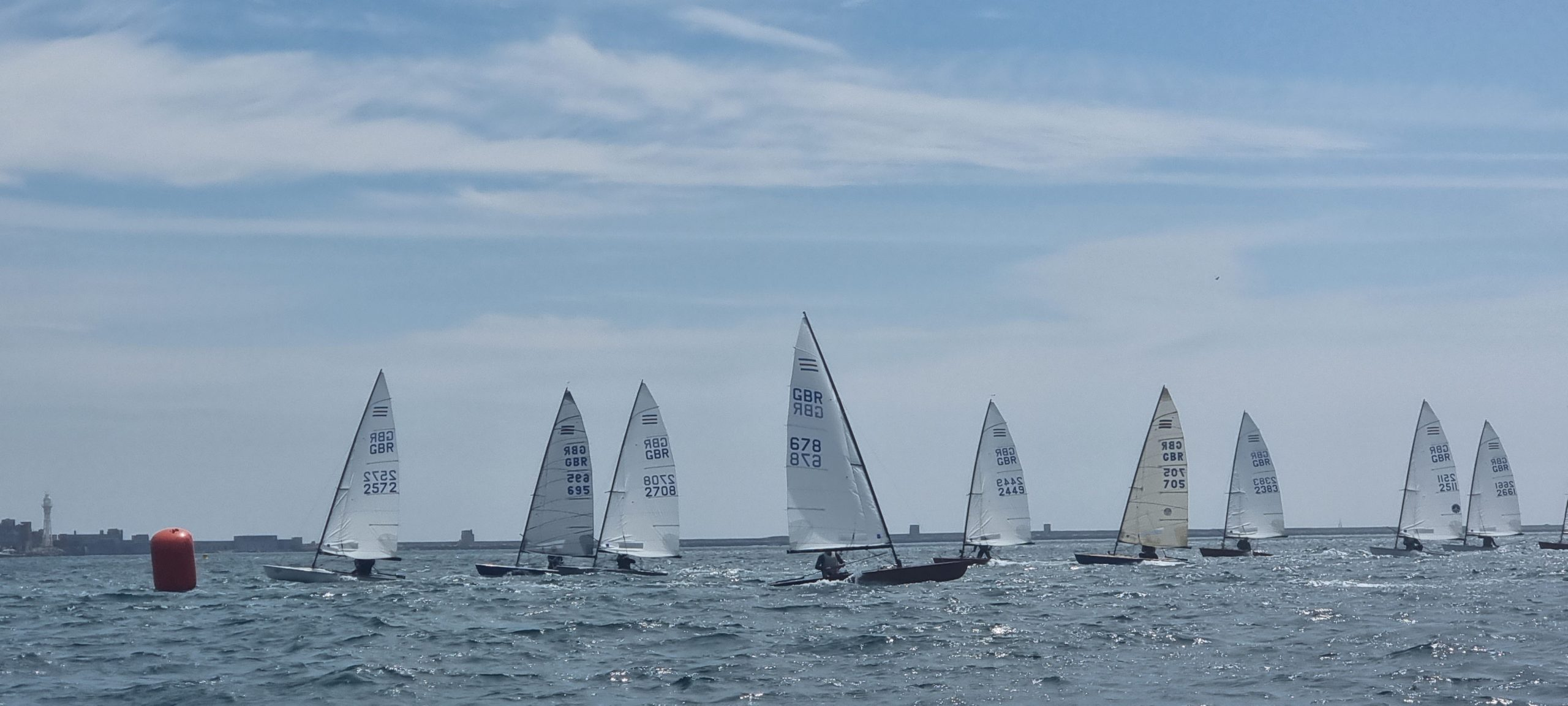 Allen sponsored Contender open at Castle Cove Sailing Club