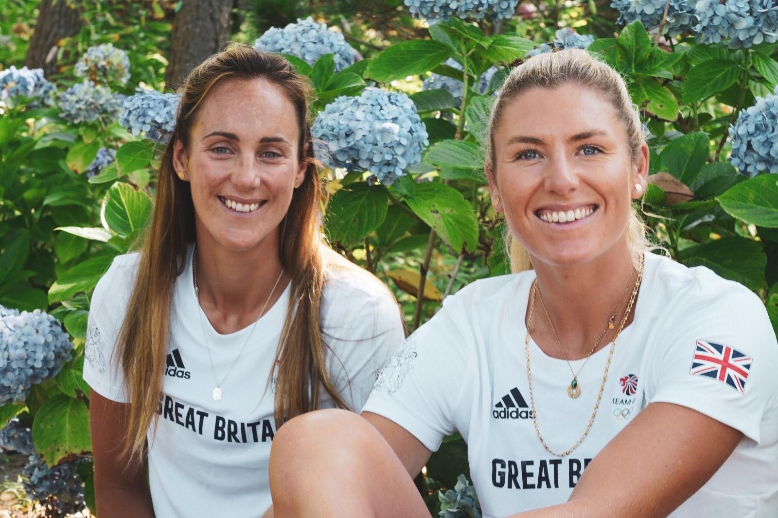 Charlotte Dobson and Saskia Tidey Selected for 49erFX Olympics.